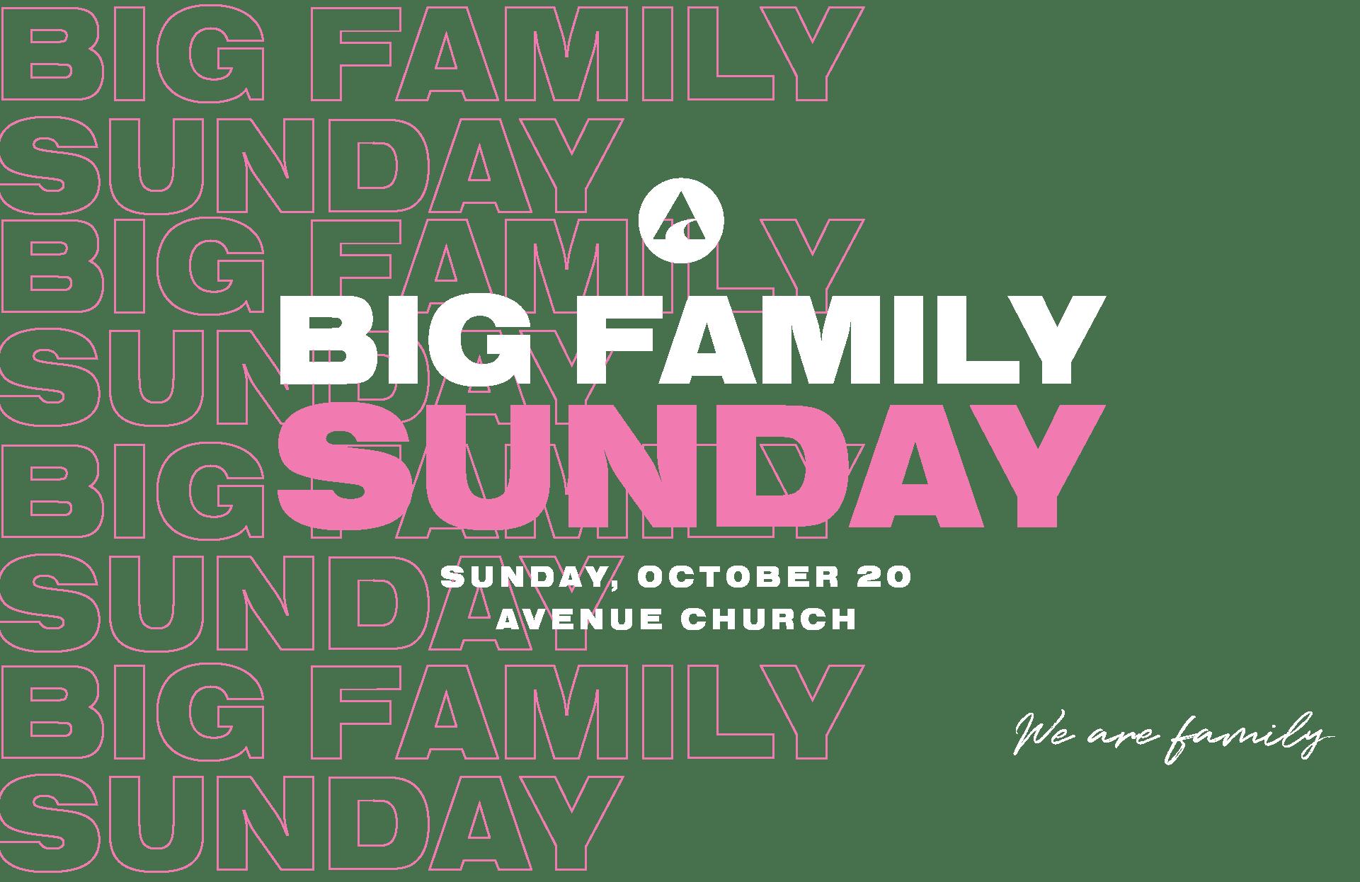 big family sunday TITLE