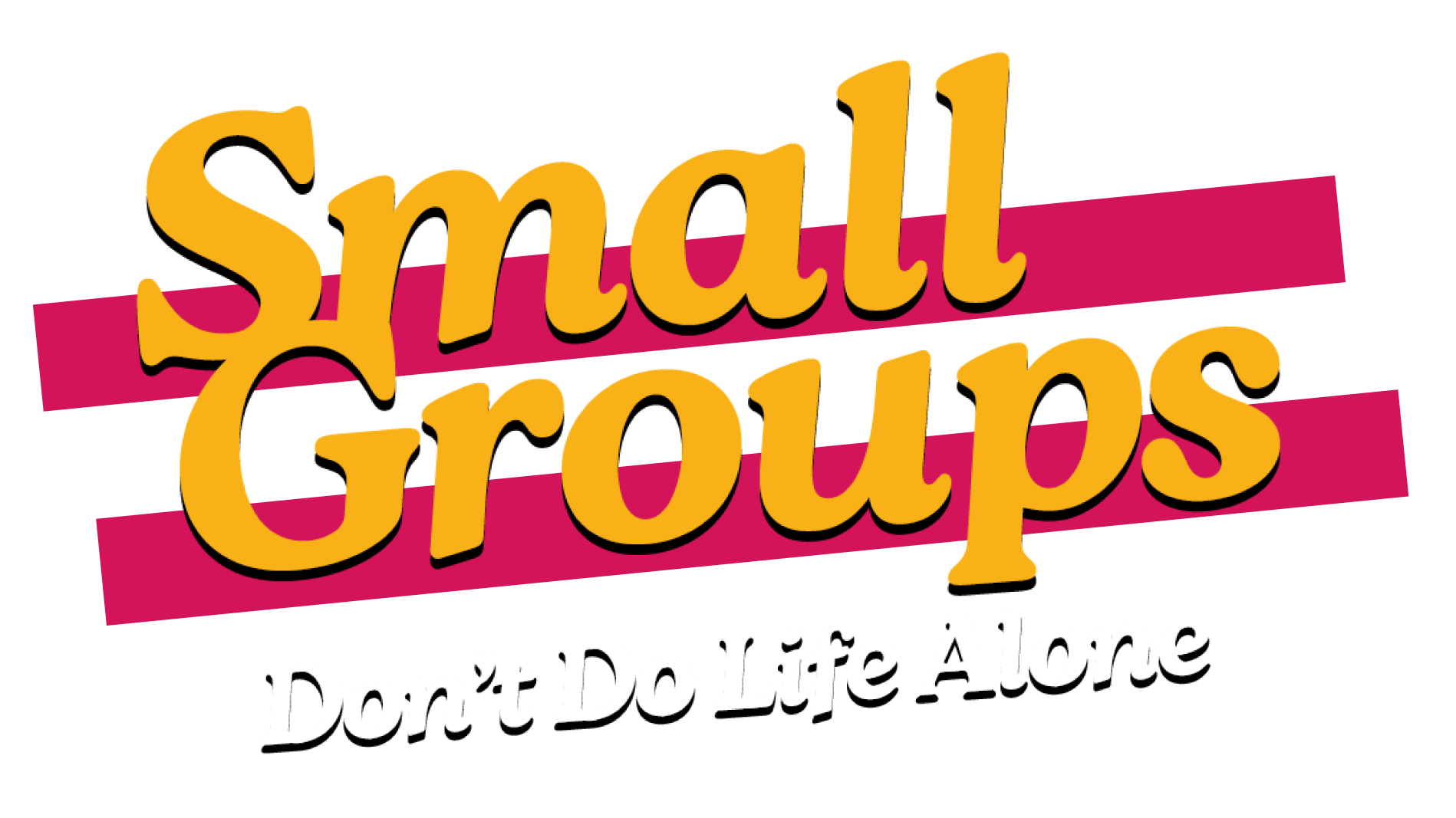 Small Groups Title Branding